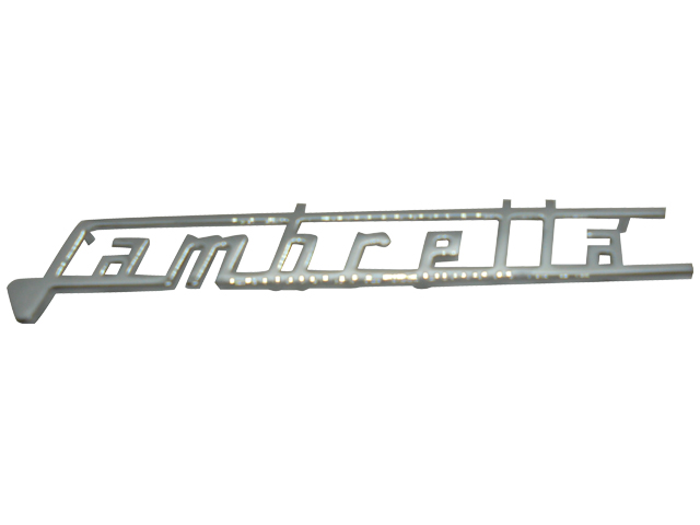 Legshield Badge - Lambretta (Thick)