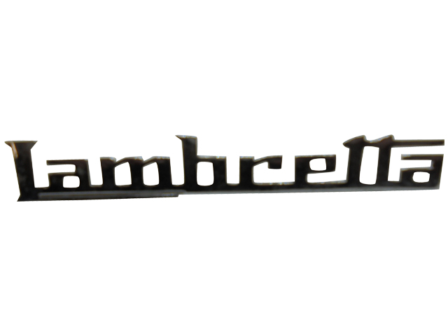 Legshield Badge - Lambretta (GP)