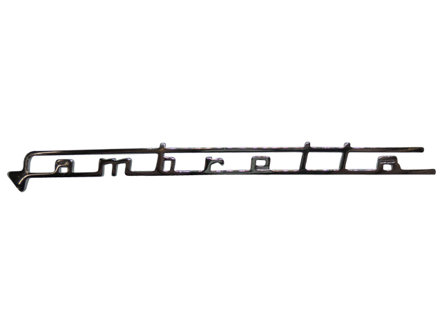 Legshield Badge - Lambretta (Thin)