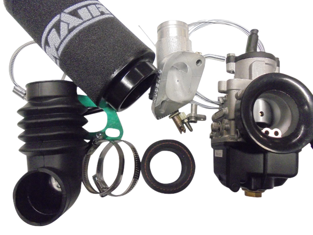 DellOrto 26 PHBH Carb, Manifold & Remote Filter Kit