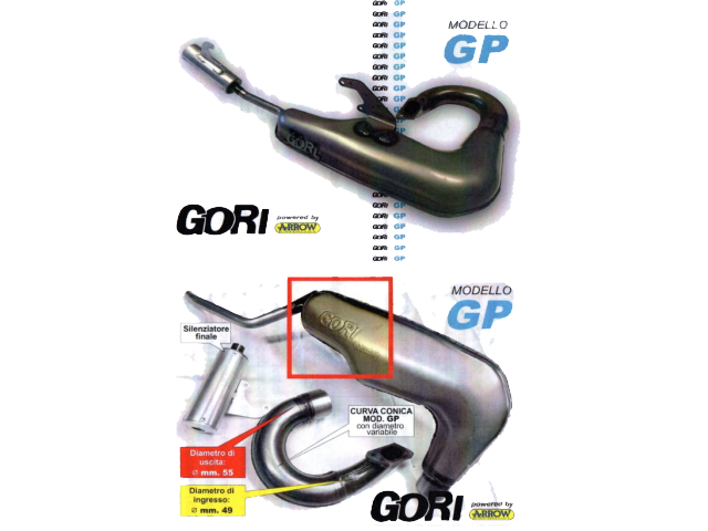 Exhaust - Gori GP