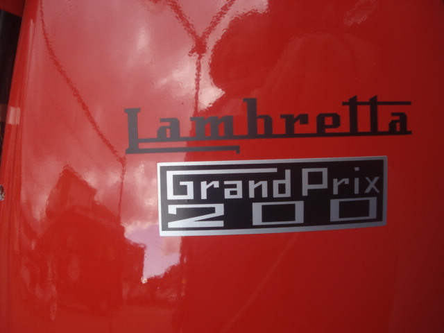 GP200 Sticker