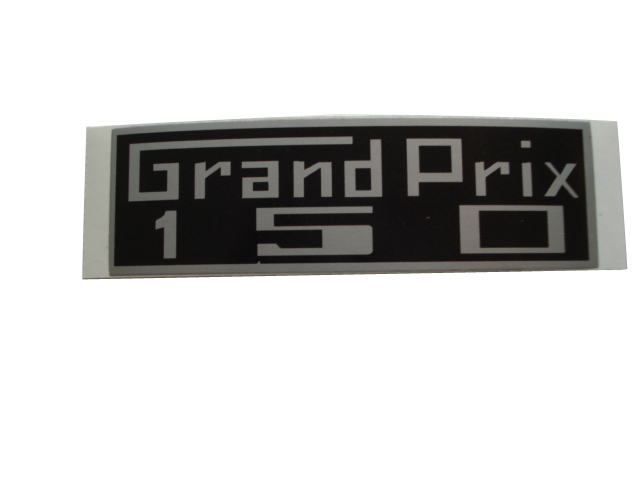 GP150 - Legshield Sticker