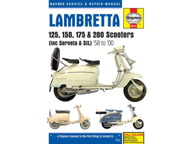 Lambretta Haynes Service & Repair manual