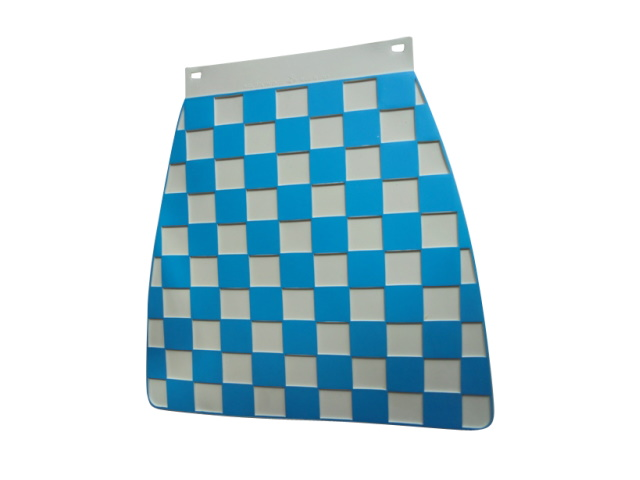 Mudflap - Blue & White Check