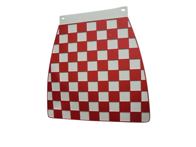 Mudflap - Red & White Check
