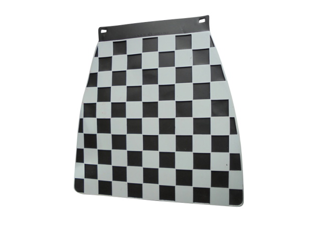 Mudflap - Black & White Check