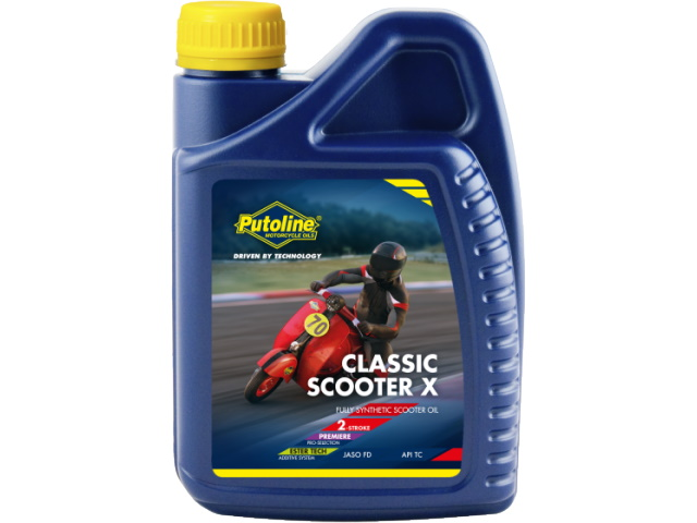 2 Stroke oil - Classic Scooter X 1Ltr