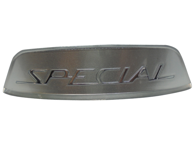 Rear Frame Badge - Silver Special