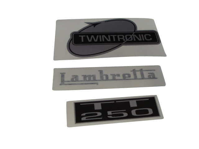 Targa Twin 250 decal set