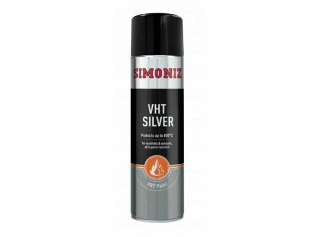 Exhaust Paint - Silver